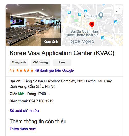 THỦ TỤC XIN VISA HÀN QUỐC (MỚI 2020)