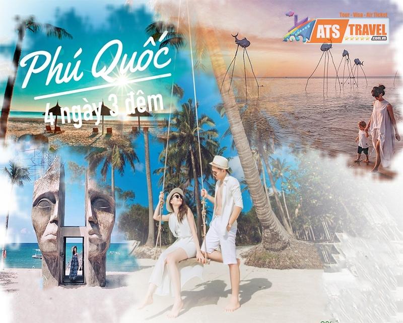 Tour Phú Quốc - Công viên Safari - Vinwonder - Cáp treo Hòn Thơm - Cano 4 Đảo (4N3D)